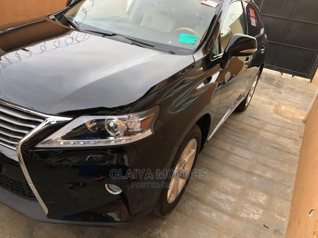 Lexus RX 2012 350 FWD Black | Cars for sale in Oshodi, Lagos State, Nigeria