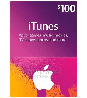iTunes Gift Card $100 (US) [Email Delivery] | Accessories & Supplies for Electronics for sale in Abuja (FCT) State, Wuse