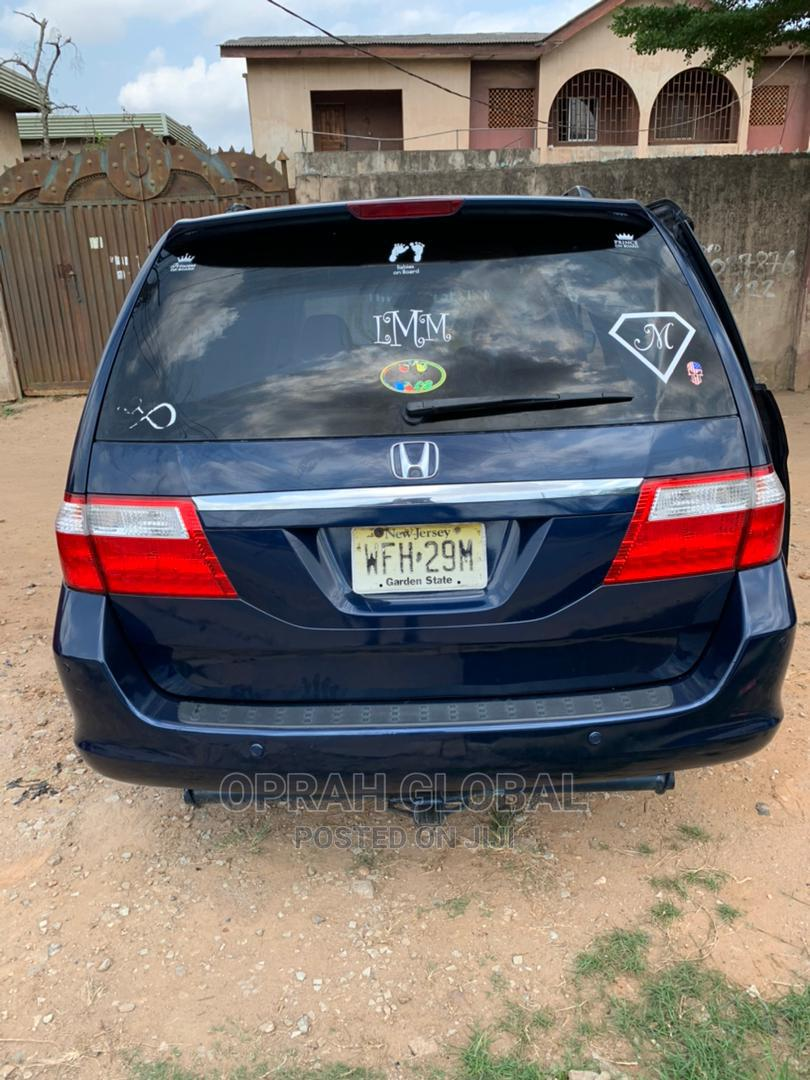Honda Odyssey 2005 EX Automatic Blue | Cars for sale in Abule Egba, Lagos State, Nigeria