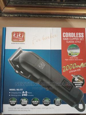 Kiki Professional Reachargable/Cordless Hair Clipper/Trimmer | Tools & Accessories for sale in Abuja (FCT) State, Kubwa
