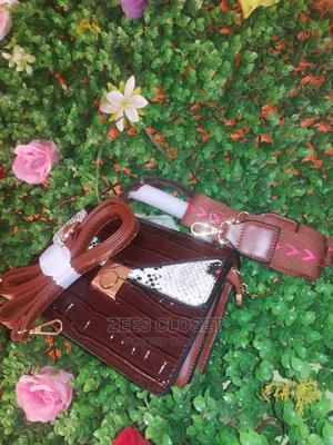 Quality Leather Midi Bag With Two Hands   Bags for sale in Ogun State, Abeokuta South