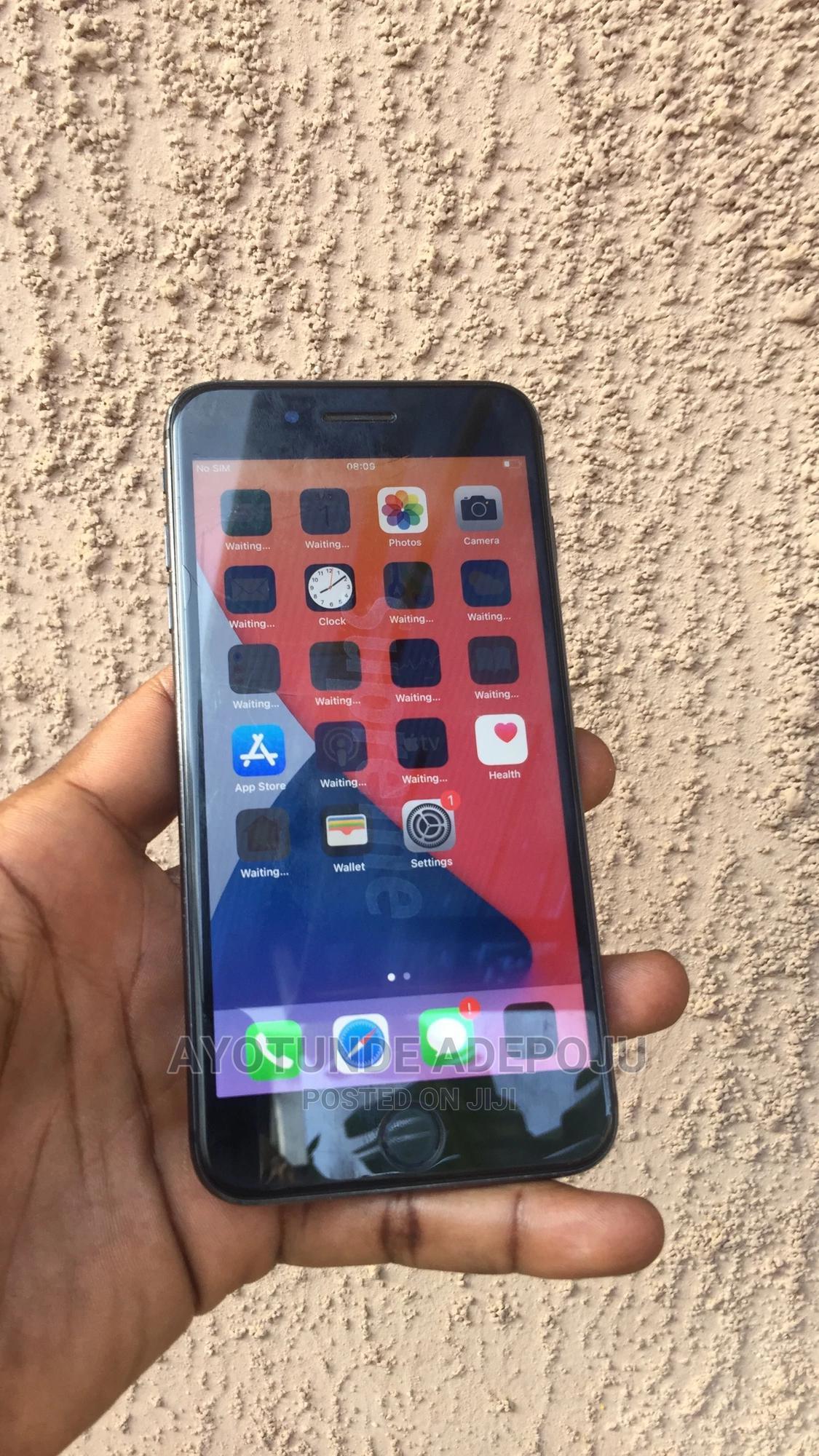 Apple iPhone 8 Plus 64 GB Black   Mobile Phones for sale in Ikeja, Lagos State, Nigeria
