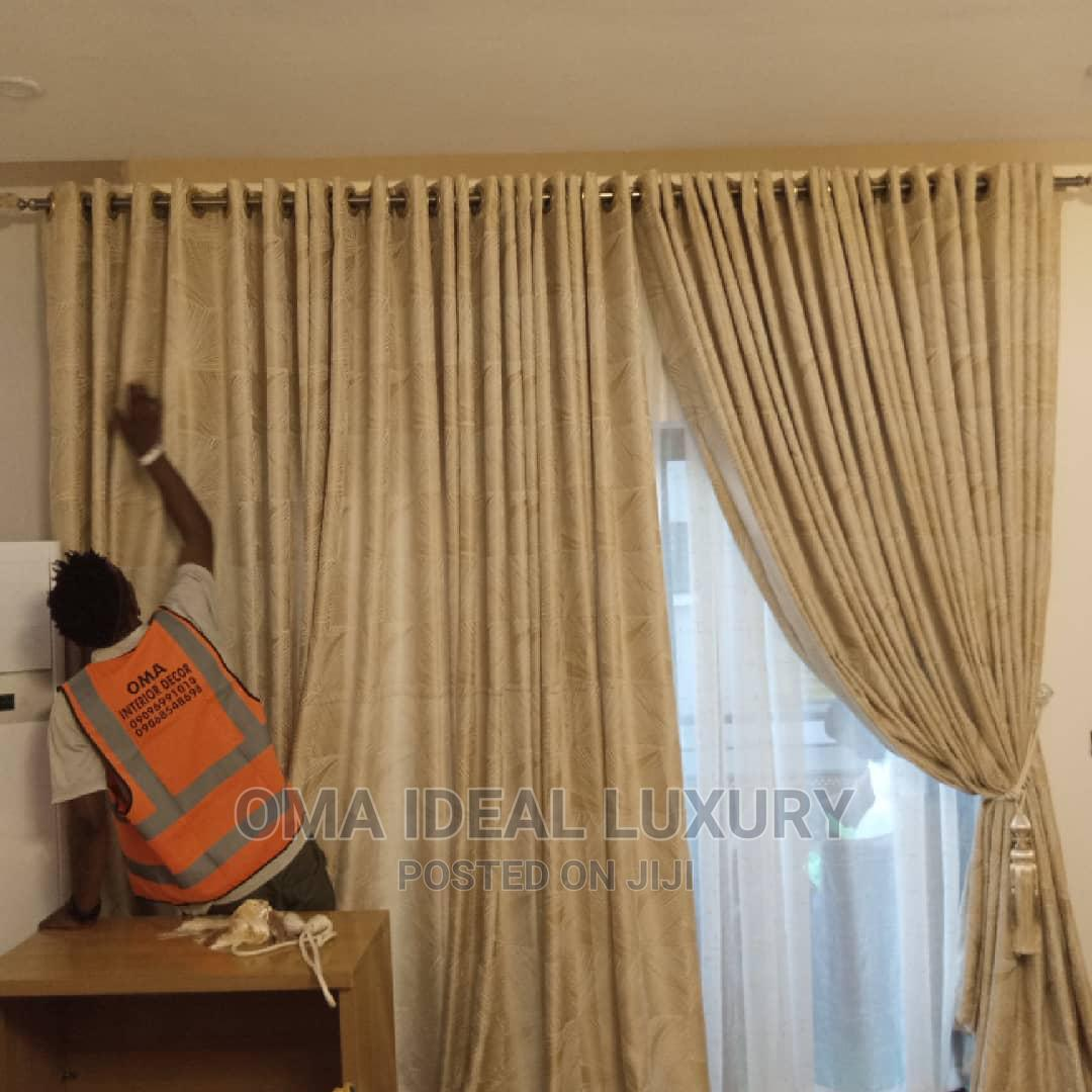 Beautiful and Quality Curtains | Home Accessories for sale in Ajah, Lagos State, Nigeria