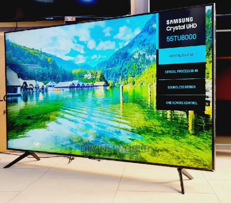 "New Samsung 55""UHD Smart 4K TV Series7(TU8000) Warranty 2yrs"
