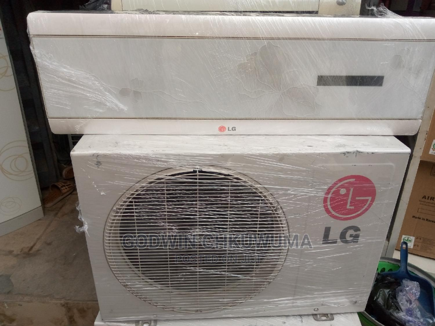 LG AC 1.5h Power: With 1year Warranty Written and Signed.