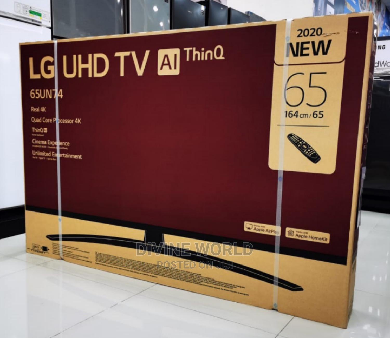 "2020 New LG 65"" Webos UHD TV (AI Thinq) Smart 4K(65UN74)"