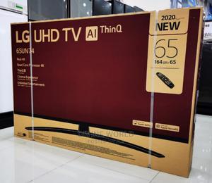 "2020 New LG 65"" Webos UHD TV (AI Thinq) Smart 4K(65UN74)   TV & DVD Equipment for sale in Lagos State, Apapa"