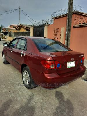 Toyota Corolla 2005 LE Red | Cars for sale in Lagos State, Lekki