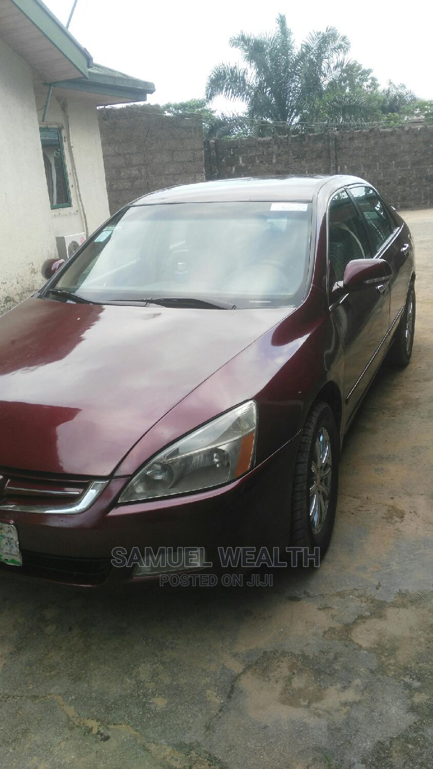Archive: Honda Accord 2004 2.4 Type S Automatic Red