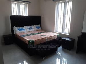 6by6 Upholstery Padded Bedframe   Furniture for sale in Lagos State, Ikeja