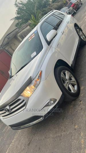 Toyota Highlander 2012 Limited White   Cars for sale in Lagos State, Ojota