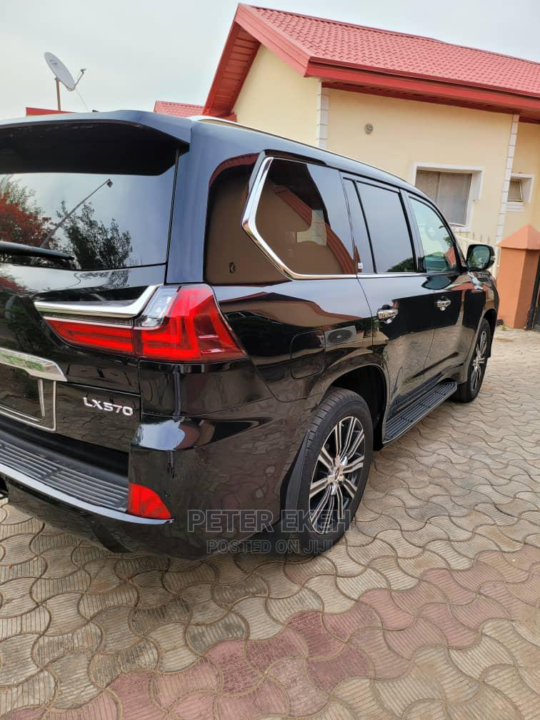 Lexus LX 2018 570 Three-Row Black   Cars for sale in Central Business Dis, Abuja (FCT) State, Nigeria