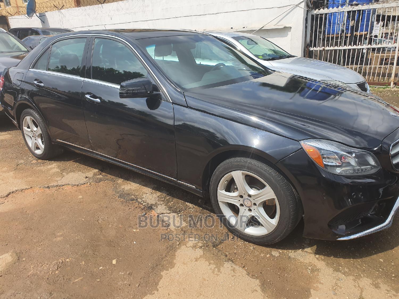 Mercedes-Benz E350 2015 Black | Cars for sale in Ikeja, Lagos State, Nigeria