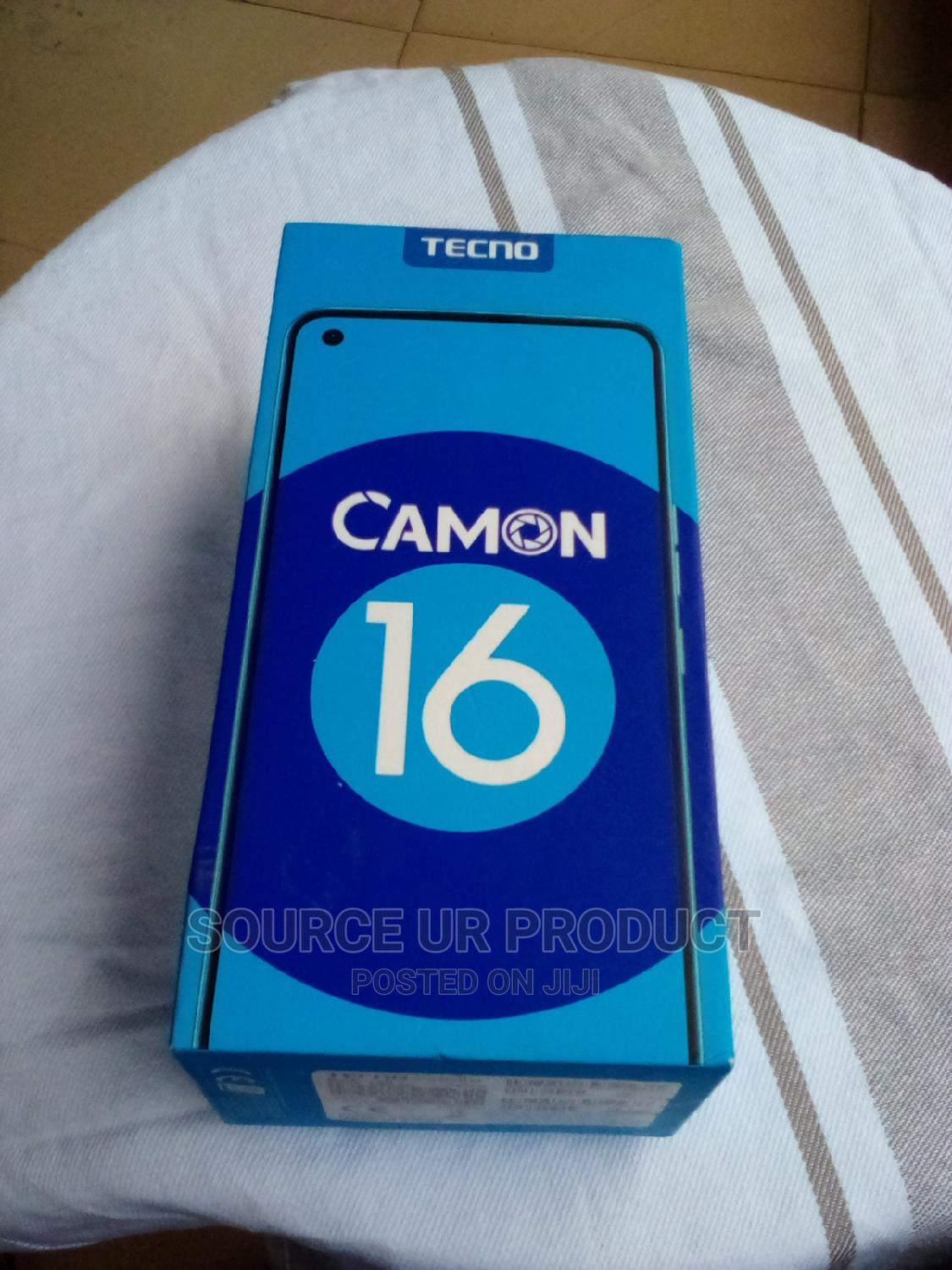 Tecno Camon 16 64 GB Blue | Mobile Phones for sale in Ikeja, Lagos State, Nigeria