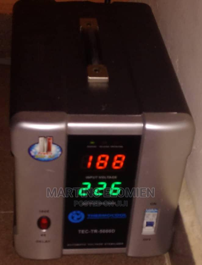 Archive: Thermocool Digital 5000 Watts Automatic Voltage Stabilizer