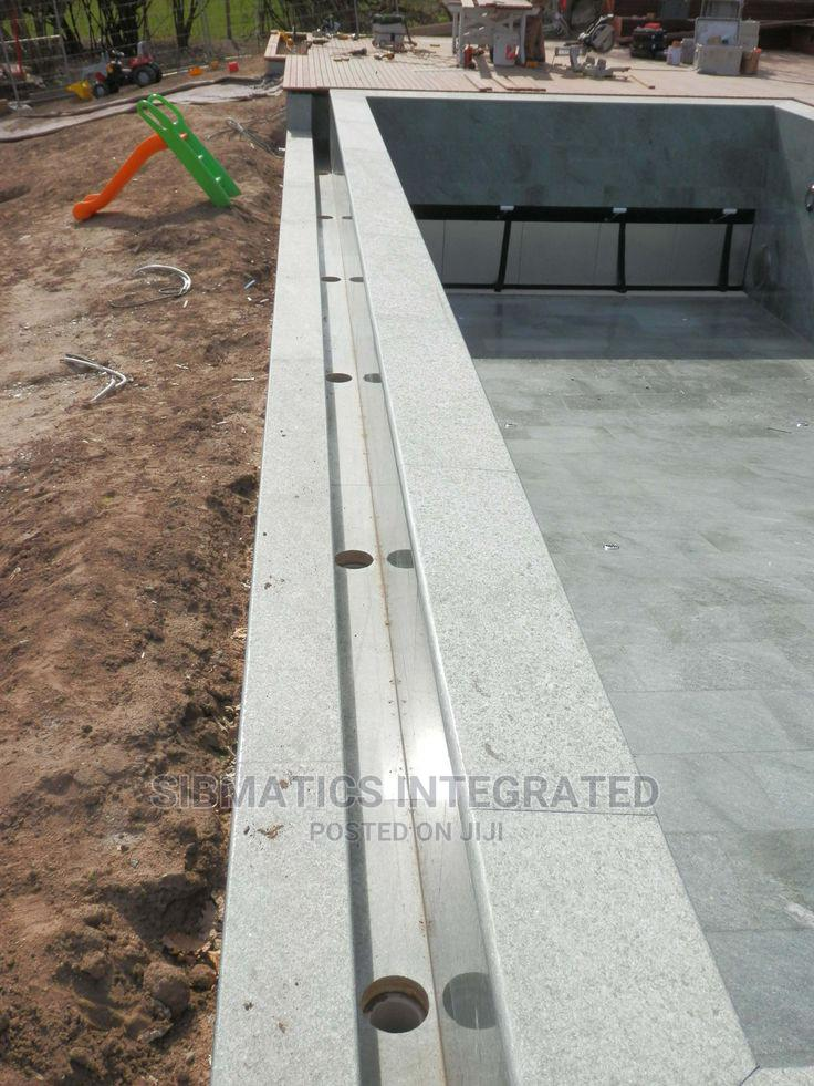 Archive: Swimming Pool Construction With Automated Cover.