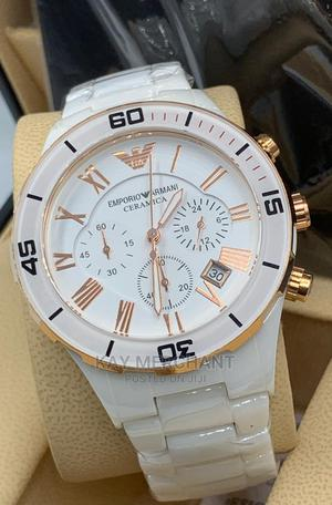 100% Ceramic Emporio Armani Quality Watch   Watches for sale in Lagos State, Yaba