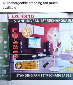 18 Rechargeable Standing Fan   Home Appliances for sale in Lagos State, Lagos Island (Eko)