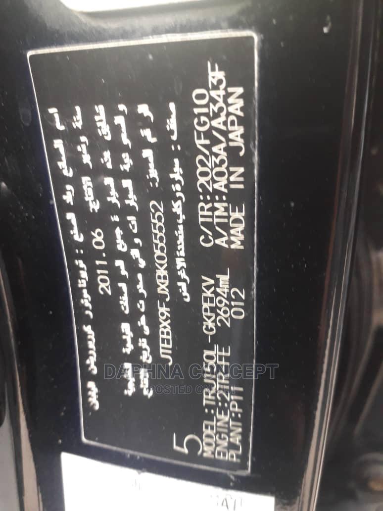 Archive: Toyota Land Cruiser Prado 2011 4.0 I Black