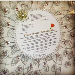Customised Marriage Proposal Letter | Arts & Crafts for sale in Lagos State, Ojo