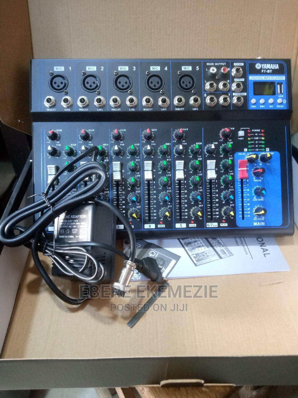 F7 Mini Console Mixer | Audio & Music Equipment for sale in Mushin, Lagos State, Nigeria