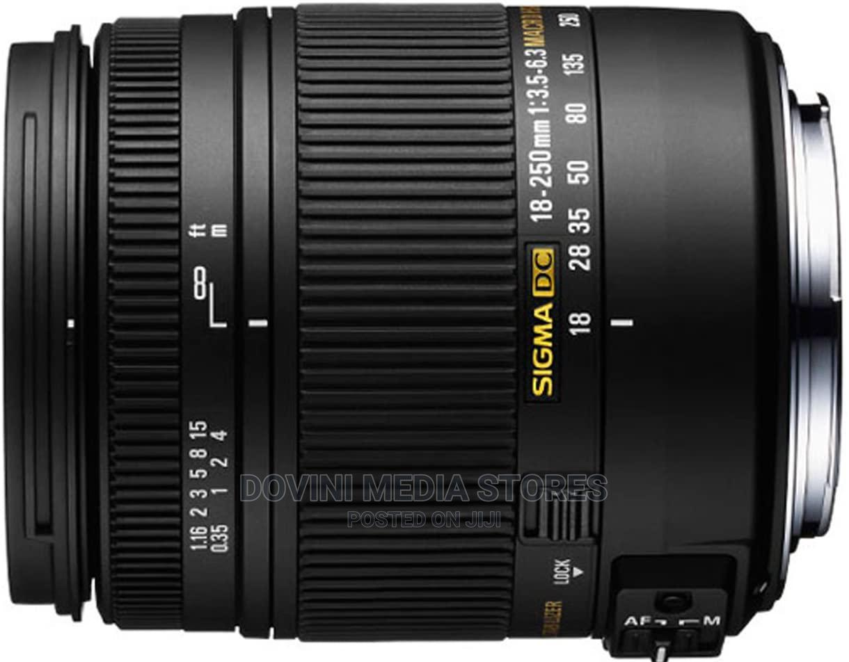 Sigma 18-250mm F/3.5-6.3 DC MACRO OS HSM Lens for Nikon   Accessories & Supplies for Electronics for sale in Port-Harcourt, Rivers State, Nigeria