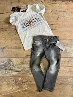 Turkey LV Shirt and Jeans | Children's Clothing for sale in Lagos State, Ikeja