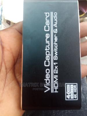 2×1 Hdmi Capture Card With Remote 3.0 | Computer Accessories  for sale in Lagos State, Ikeja