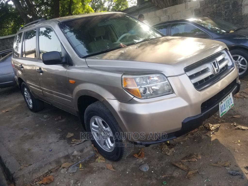 Honda Pilot 2008 Gold | Cars for sale in Surulere, Lagos State, Nigeria