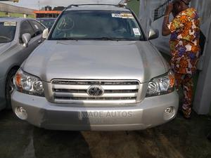 Toyota Highlander 2007 Silver   Cars for sale in Lagos State, Ogba