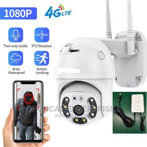Rechargeable 4G Sim Waterproof PTZ Speed Dome Camera   Security & Surveillance for sale in Lagos State, Ikeja