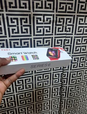 T55+ Plus Series 6 Smartwatch, Make and Receive Calls | Smart Watches & Trackers for sale in Lagos State, Ikeja