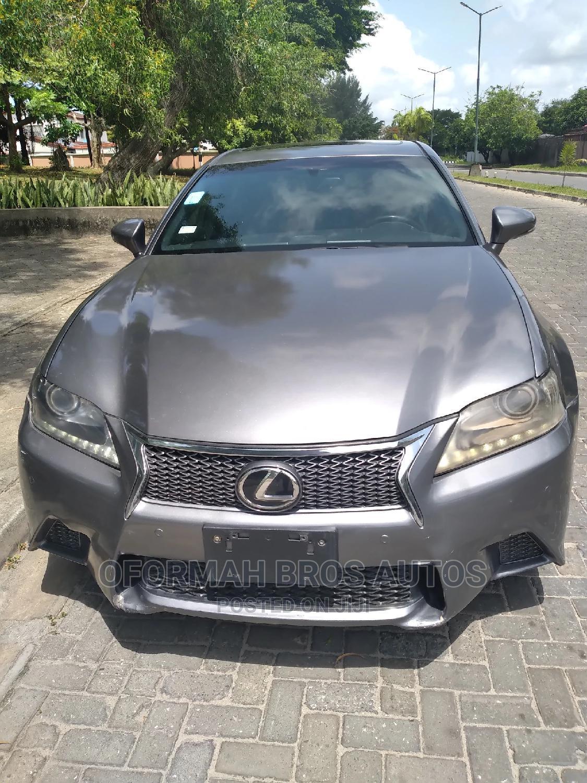 Lexus GS 2012 350 Gray