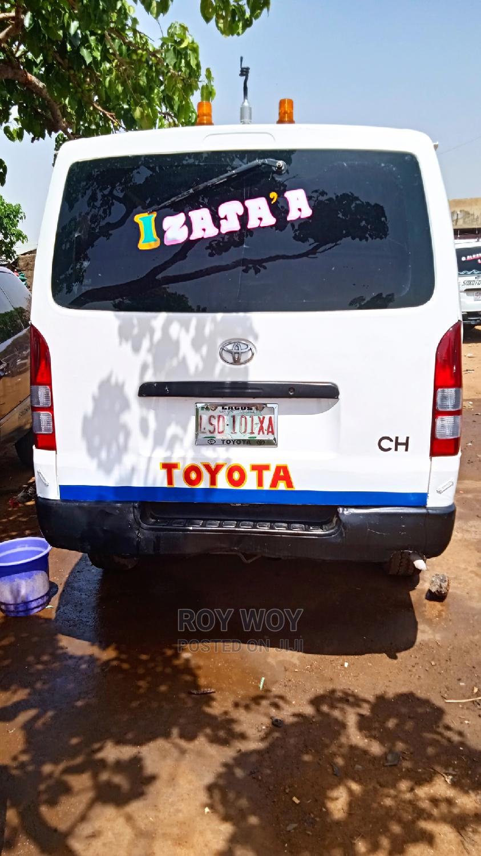 Toyota Hiace 2005 White   Buses & Microbuses for sale in Zaria, Kaduna State, Nigeria
