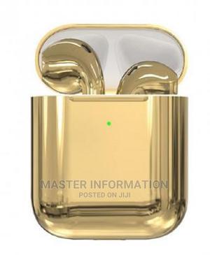 Porodo Soundtec Airpod Gold Wireless | Headphones for sale in Lagos State, Ikeja