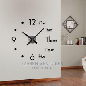 3d Modern Wall Clock | Home Accessories for sale in Lagos State, Ipaja