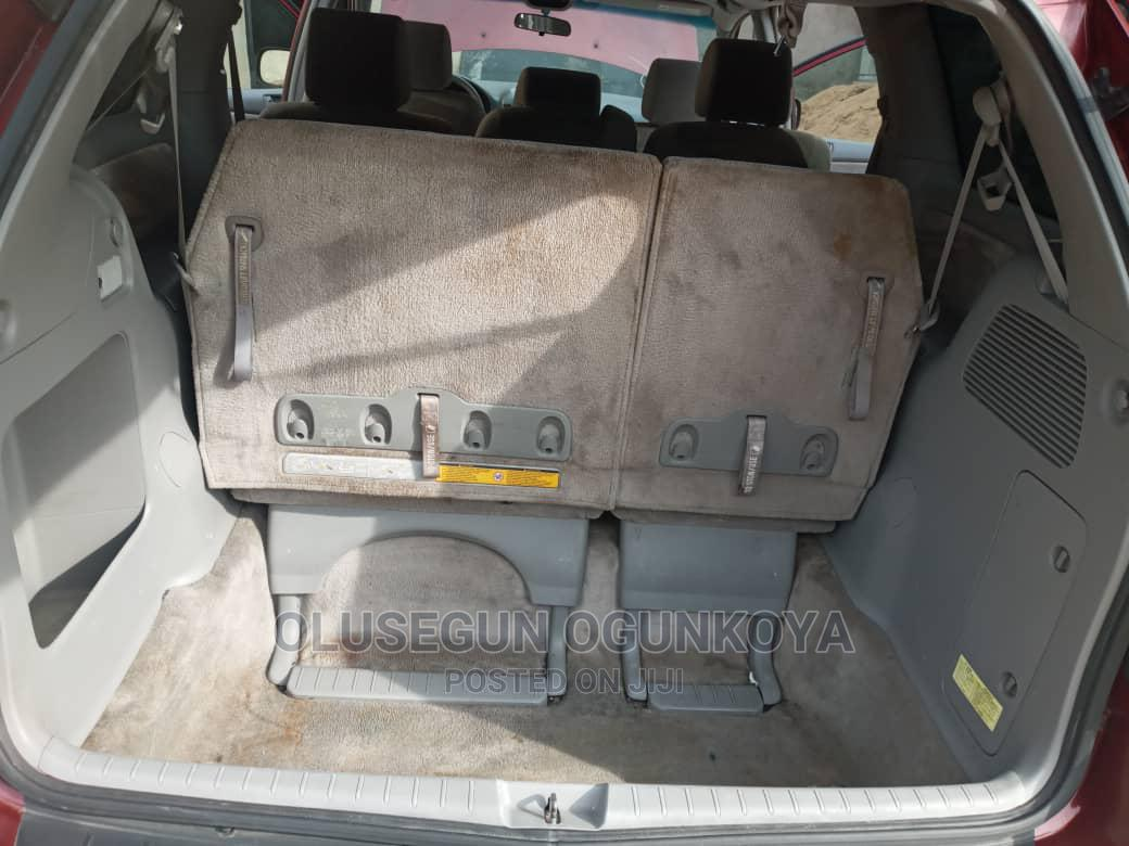 Toyota Sienna 2007 Red   Cars for sale in Agege, Lagos State, Nigeria