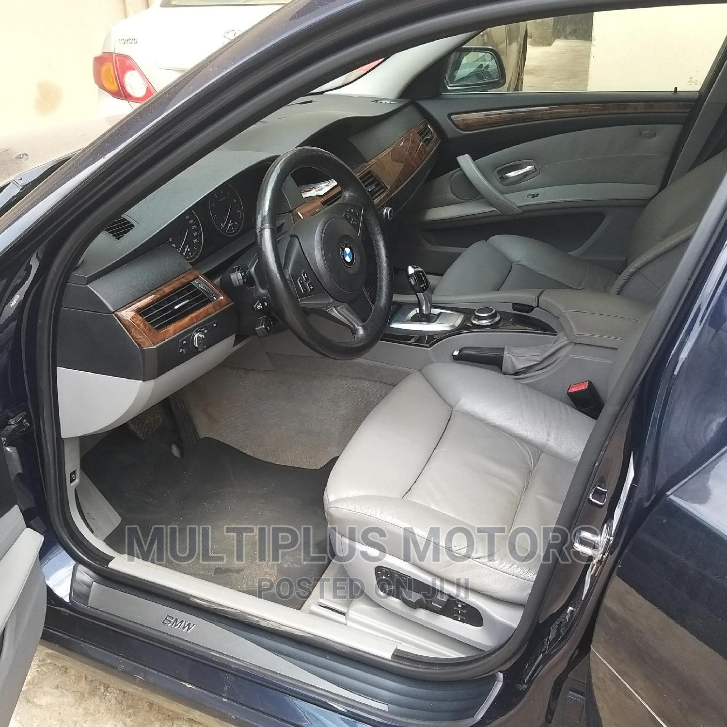 BMW 535i 2008 Blue   Cars for sale in Alimosho, Lagos State, Nigeria