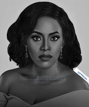 Potrait Art Work   Arts & Crafts for sale in Lagos State, Ojo