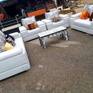 White Set of Sofa Chair   Furniture for sale in Lagos State, Ikeja