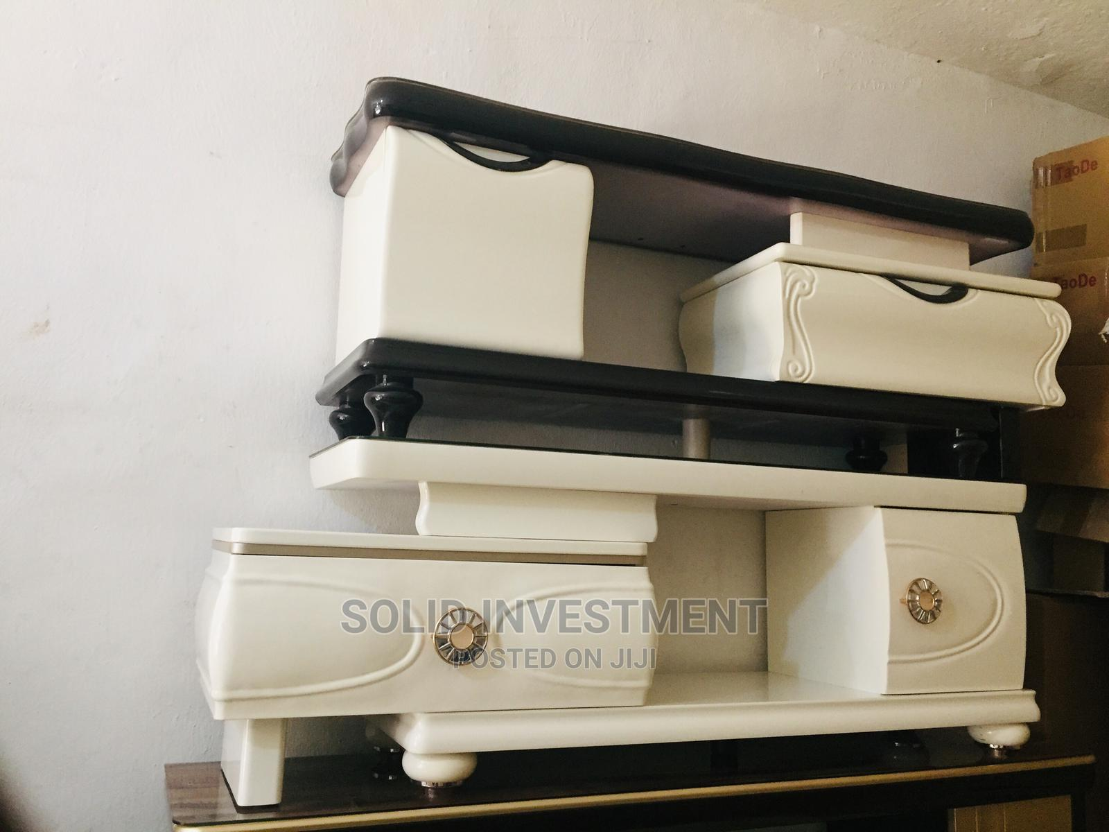 Quality Executive Tv Shelve With Double Drawers,