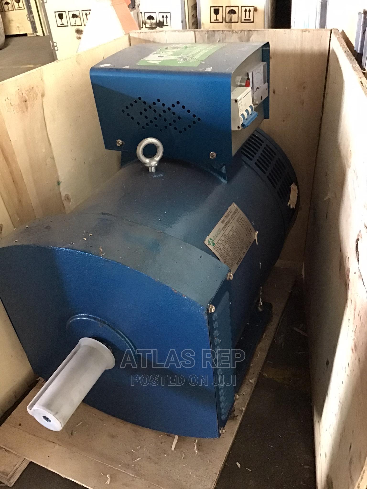 ATLAS Alternator Single Phase 3 Phase 7.5 Kwa to 25 Kwa   Manufacturing Equipment for sale in Apapa, Lagos State, Nigeria
