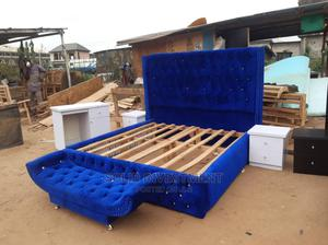 6by6 Upholstery Padded Bed. The Content Are; The Bed Frame,   Furniture for sale in Lagos State, Ajah