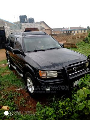 Nissan Pathfinder 2003 LE AWD SUV (3.5L 6cyl 4A) Black | Cars for sale in Ogun State, Ifo