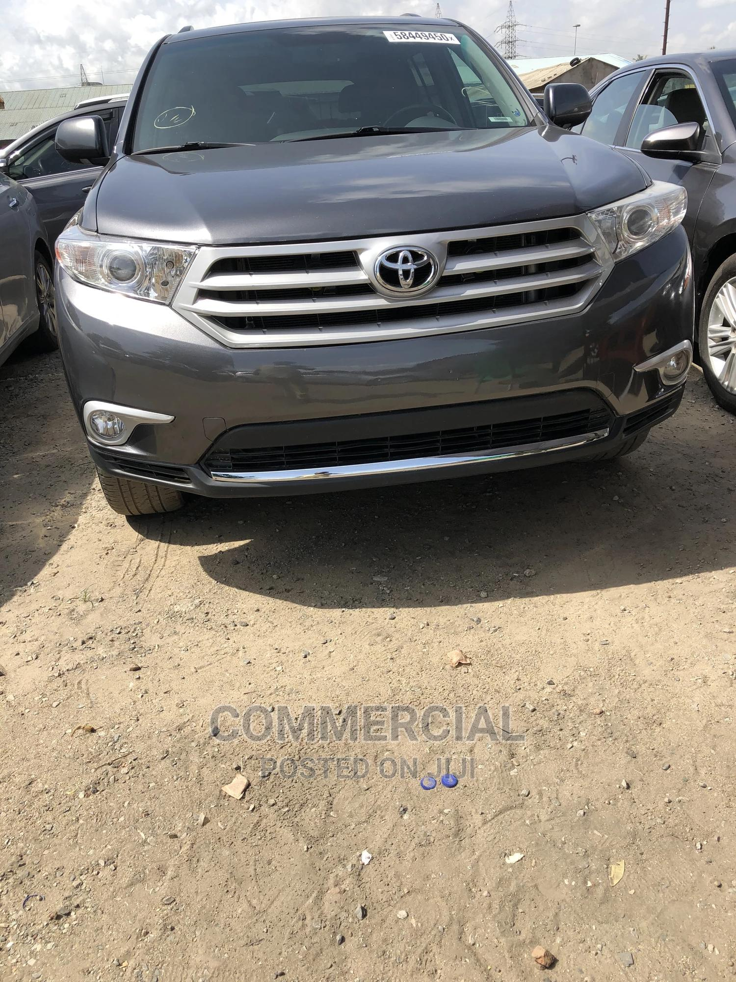 Toyota Highlander 2012 Limited Gray | Cars for sale in Amuwo-Odofin, Lagos State, Nigeria