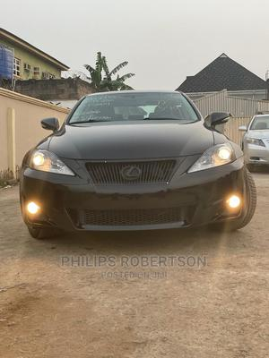 Lexus IS 2012 250 AWD Automatic Black | Cars for sale in Lagos State, Ipaja