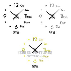 3d Modern Wall Clock Wholesale | Home Accessories for sale in Lagos State, Ipaja
