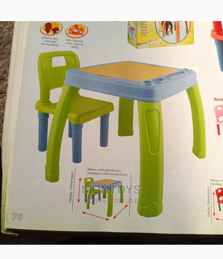 Chair And Table For Kids