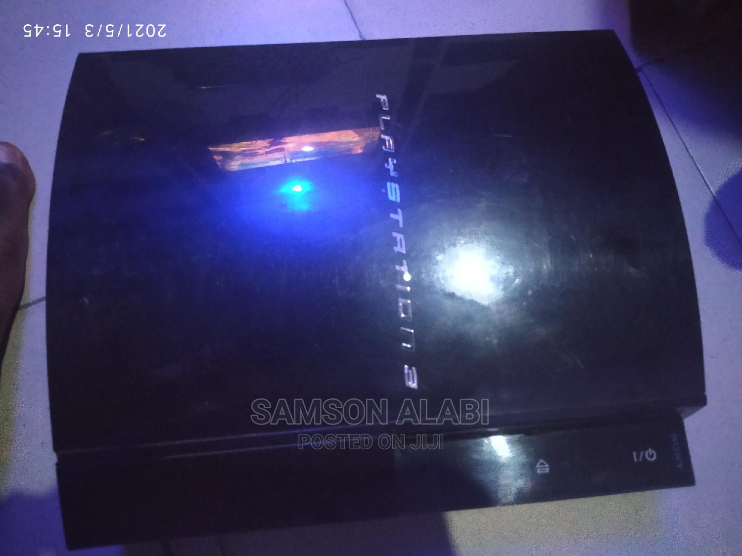 Neatly Used Ps3 With Pads and 3 Games