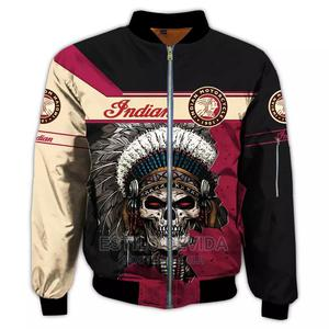 Red Indian LOGO Jacket | Clothing for sale in Lagos State, Surulere